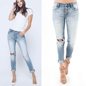 Denim - SYDNEY Distressed jeans